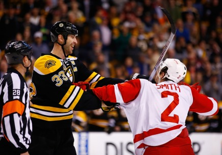 Game 2 Recap: Bruins Pound Red Wings 4-1, Even Series