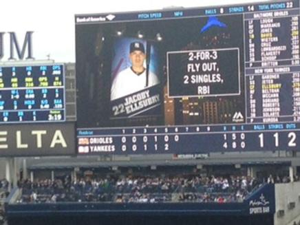 Yankees Misspell Jacoby Ellsbury's Name