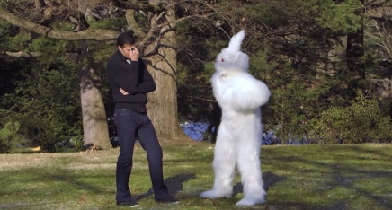 Happy Easter! From Tom Brady and This Bunny