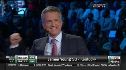 Bill Simmons Forgets He's on TV, Reminds the World He Loves the Celtics