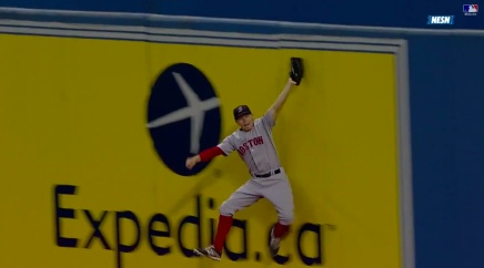 Brock Holt Makes Yet Another Mind Blowing, 'How Did He Do That' Catch