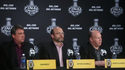 All Quiet on the Frontier; Bruins Distant from Free Agency