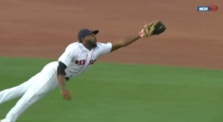 "Last Night, Jackie Bradley Jr. Made a ""Holy Shit"" Catch. Shane Victorino Loved it."