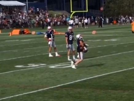 Danny Amendola Pulls Off Impressive JugglingAct