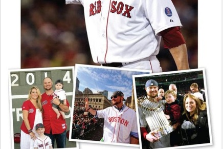 Lester's Full Page Ad in the Globe Thanking Red Sox Fans. Class Act.
