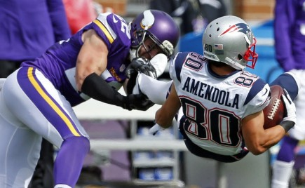 Where in the World is Danny Amendola?